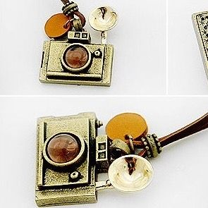camera necklace - Miss B.