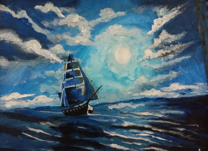 Night in Ocean - Swair