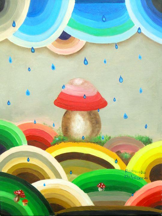Mushrooms - My Art for Kids