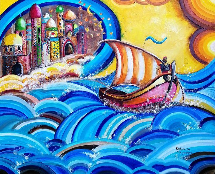 Sinbad, the legend of the seven seas - Radosveta Zhelyazkova