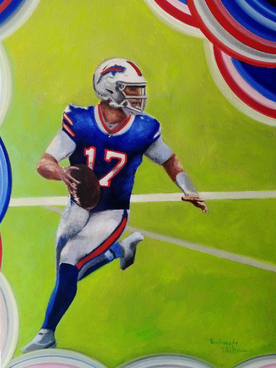 Number 17, Buffalo New York Team - My Art for Kids