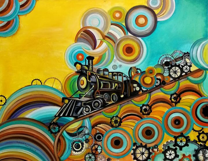 Time Train - My Art for Kids