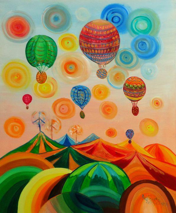 Wonderful world - My Art for Kids
