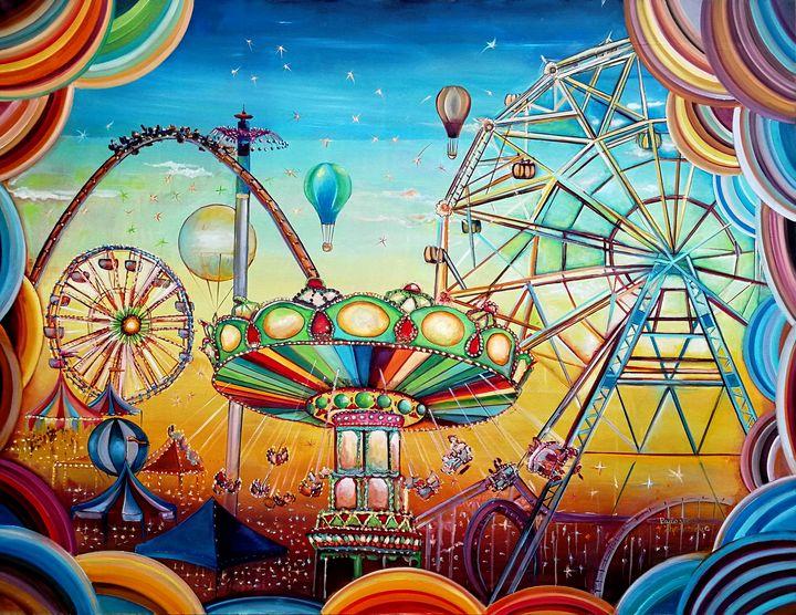 Fairground - My Art for Kids
