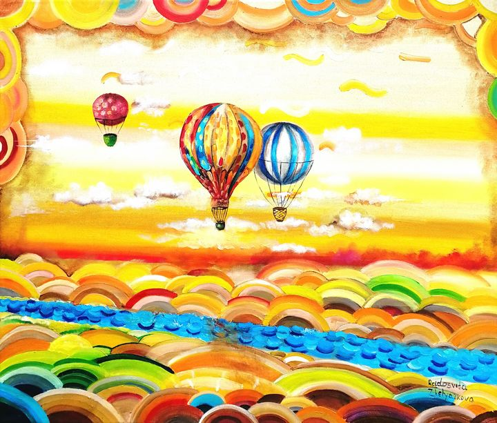 Fly high with your dreams - My Art for Kids