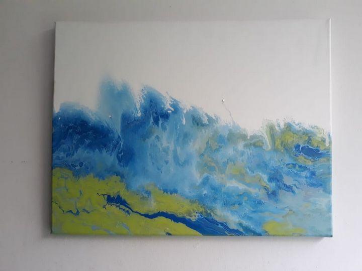 Roaring sea. -  Arguellobcristina