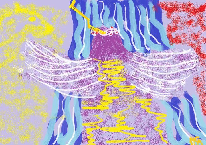 PURPLE ANGEL -  Arguellobcristina