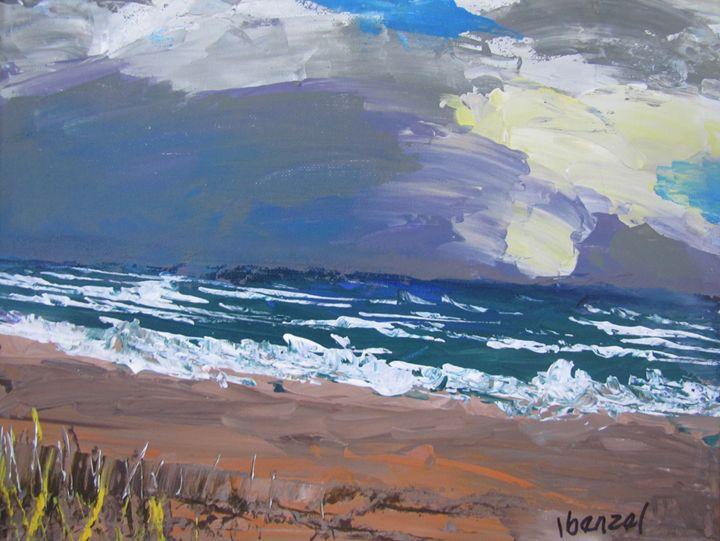 17. Early Beach Sunrise - ibenzel