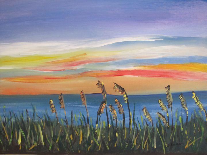28. Sea Oats Sunrise - ibenzel