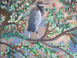 23. Heron in Tree