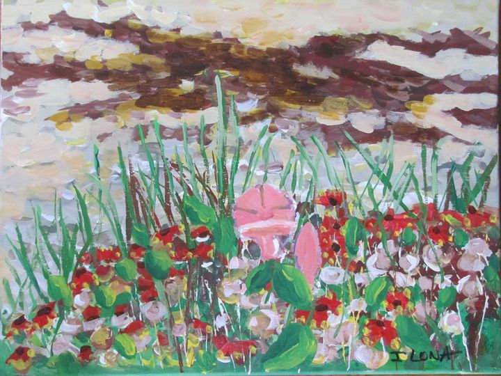 37. Seaweed & Flowers Sand Dunes - ibenzel