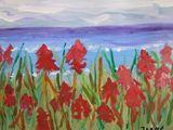 11. Red Dune Floewrs