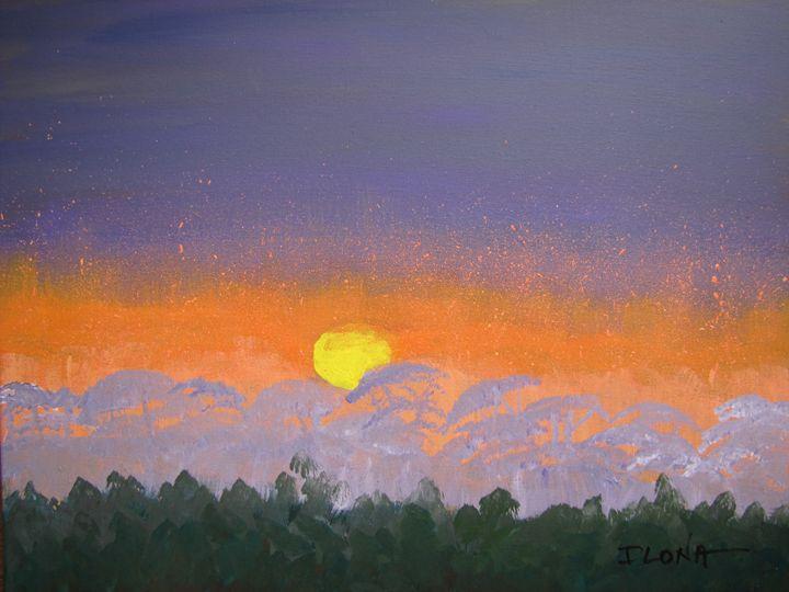 52. Foggy Sunset, Intracoastal - ibenzel
