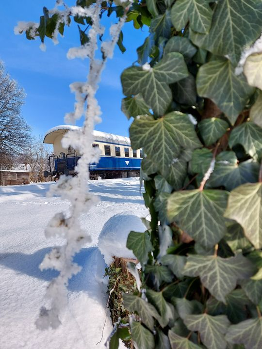 Winter at the Station - HafnerDekoArt