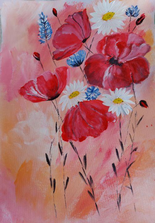 Blumenwiese - HafnerDekoArt