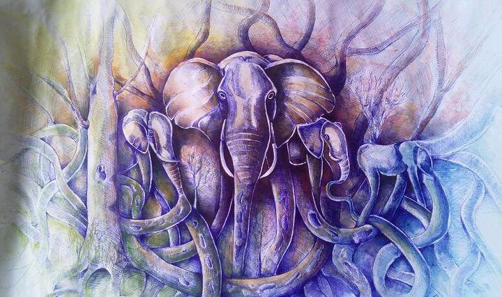 Elephants - Emmanuel Ogwang