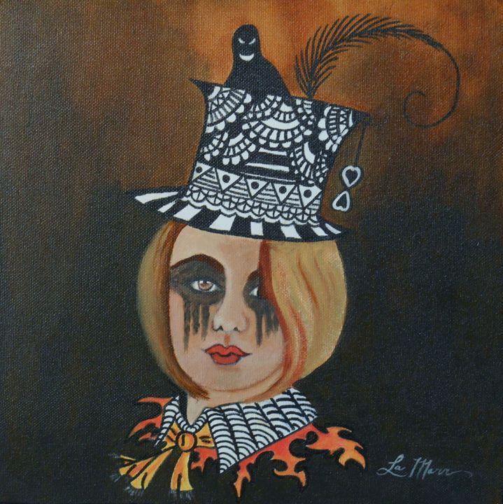 Fright Night - La Marr Kramer's Fine Art Gallery