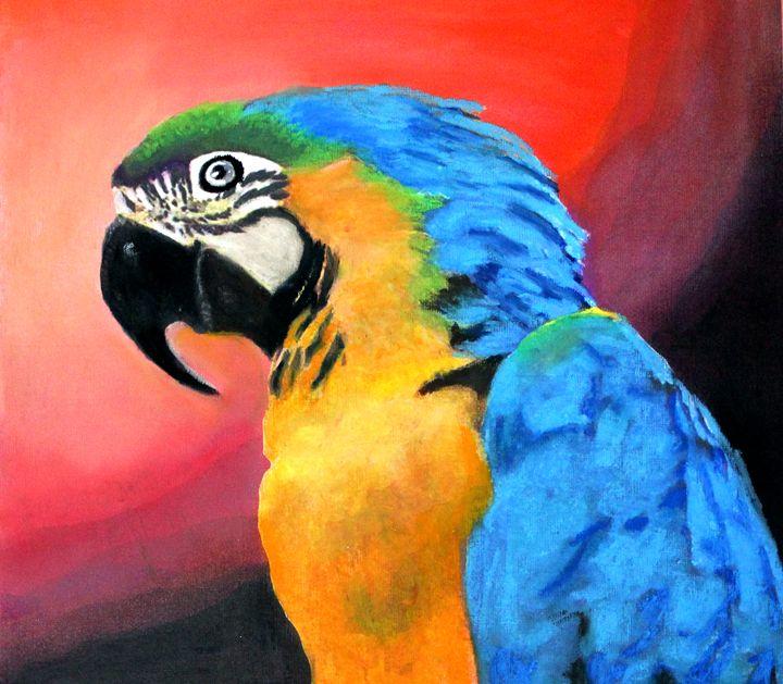 The Parrot - La Marr Kramer's Fine Art Gallery