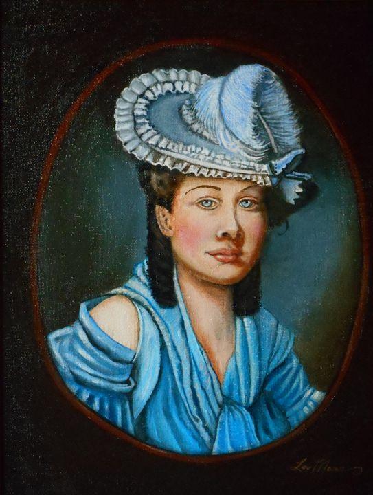 Lady Constance - La Marr Kramer's Fine Art Gallery