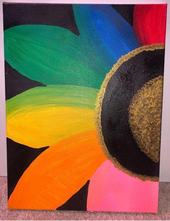 Rainbow Flower - GypsyWarrior28