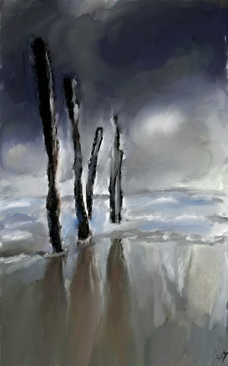 Storm coming in - Peter Rex