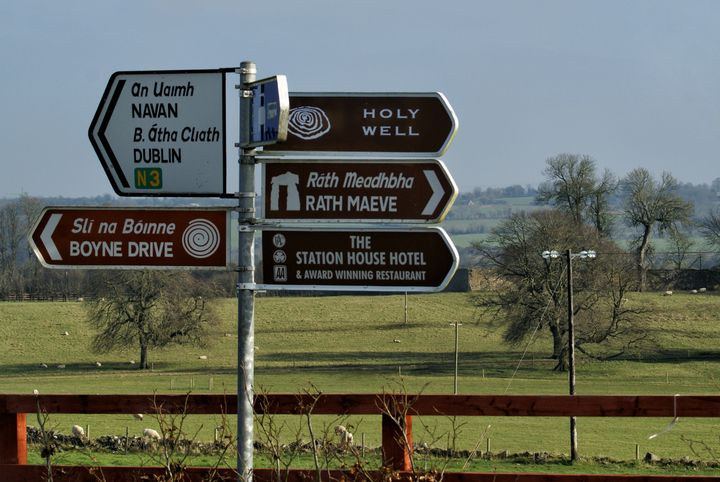 Irish Road Signs - Maria Keady at Through the Lens of MTK