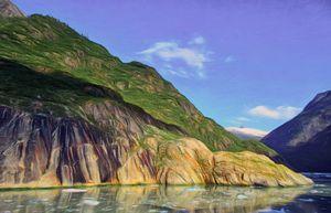 Sailing the Sawyer Fjord