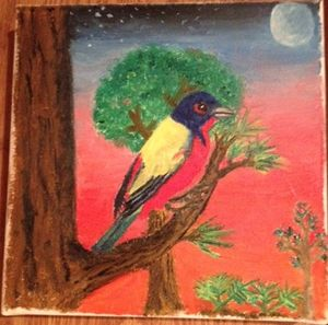 Painted Bunting - Jessica Lowery