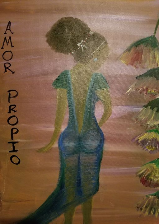 Amor Propio (self Love) - Artbyakua