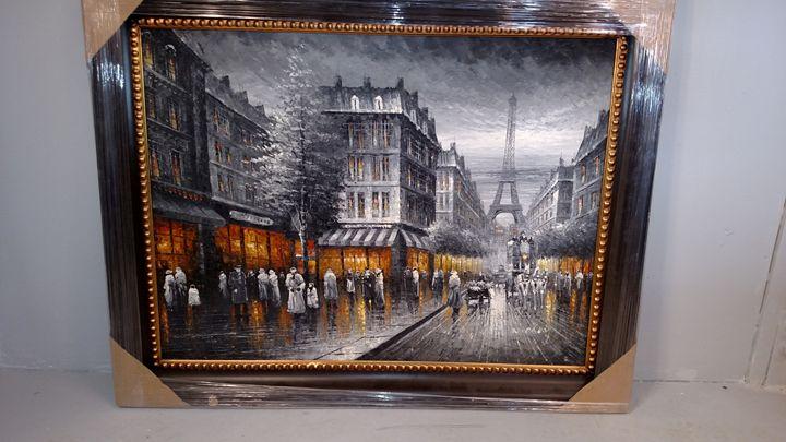 Busy Paris Landscape - Leverage Liquidators