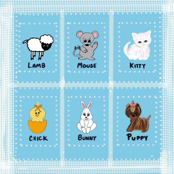 Baby Animal Sampler - hkOriginals