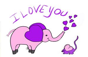 """I Love You"", Said the Elephant"