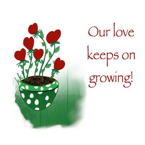 Our Love Keeps Growing!
