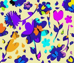 Splashes of Petals