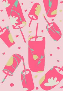 Pink Summer Drinks