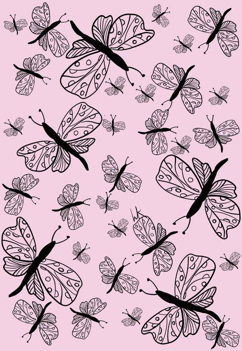 Fluttery Butterflies Bring Hope - hkOriginals