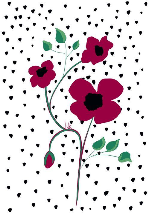 Simply Beautiful Poppies - hkOriginals
