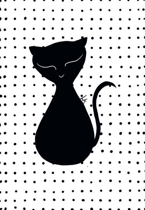 Halloween Sassy Kitty - hkOriginals