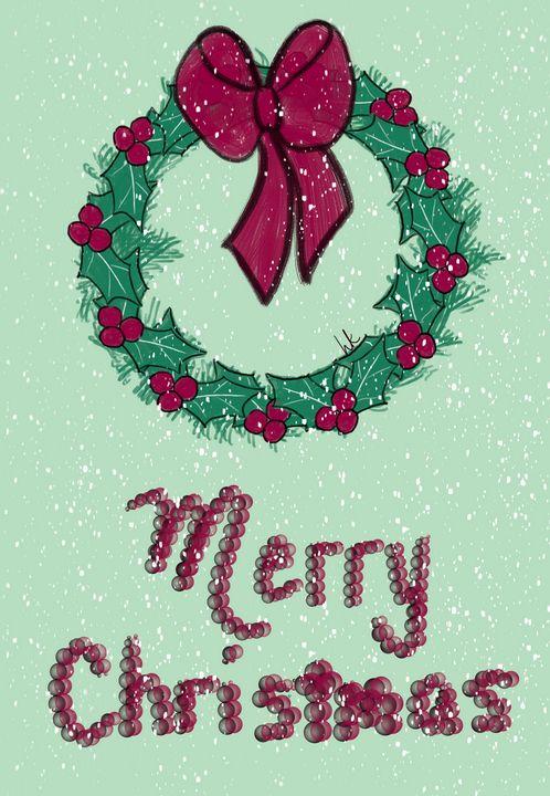The Christmas Wreath - hkOriginals