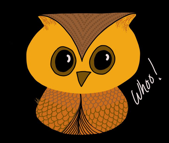 Whoo! Says This Cute Little Owl - hkOriginals