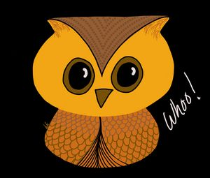 Whoo! Says This Cute Little Owl