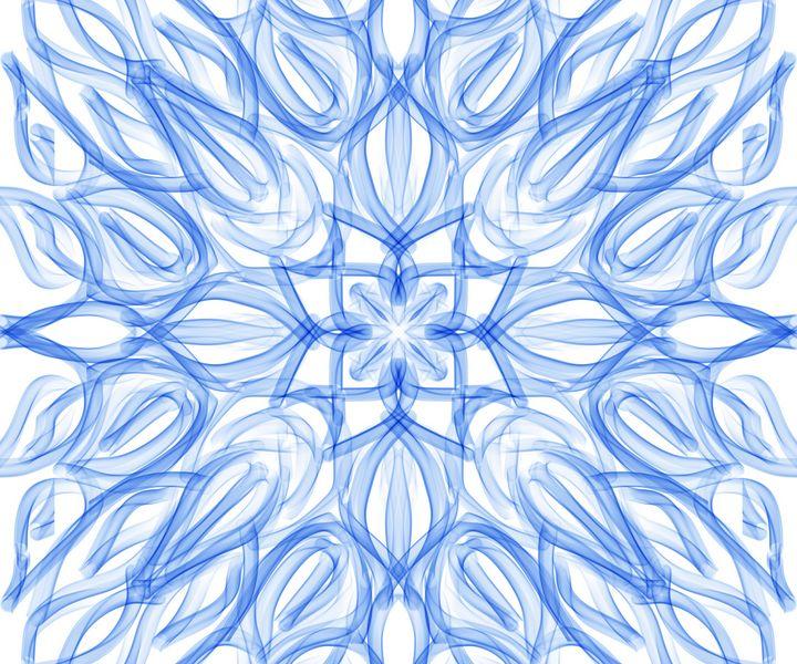 Abstract in Blue - hkOriginals