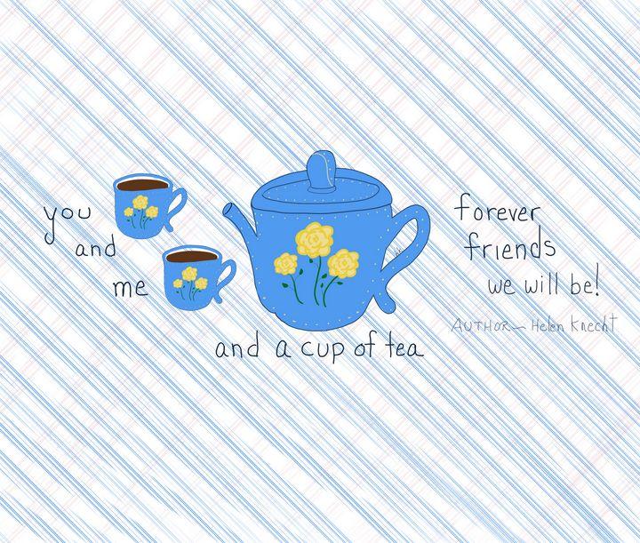 You and Me and a Cup of Tea - hkOriginals