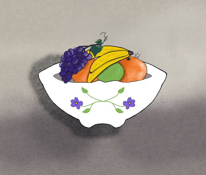 Pretty Fruit Bowl - hkOriginals