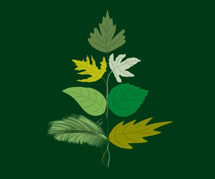 Variety of Leaves - hkOriginals