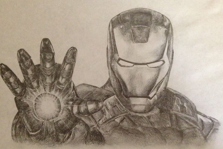 Iron Man - Jablack