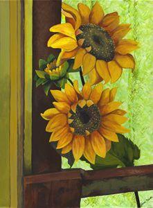 Grandma Cleo's Sunflowers