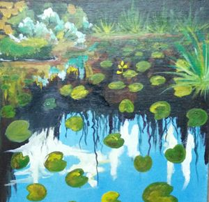 Impression of Monet's Waterlily