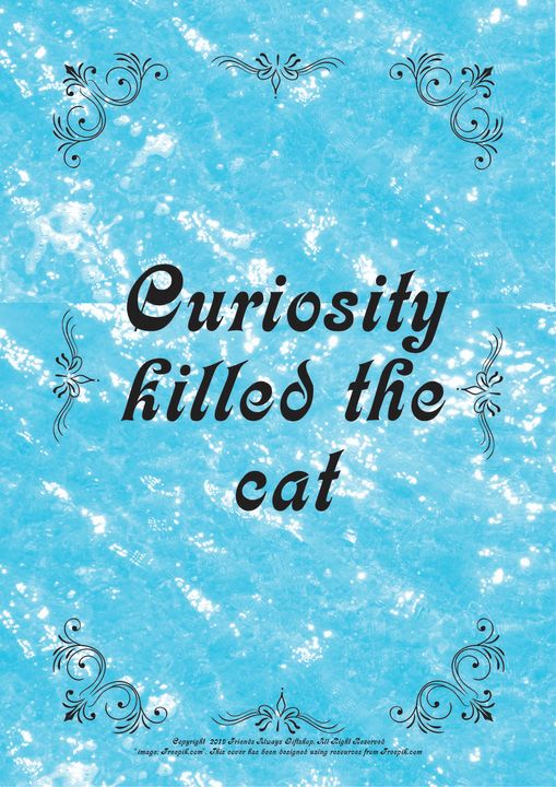 057B Curiosity killed the cat - Friends Always Giftshop