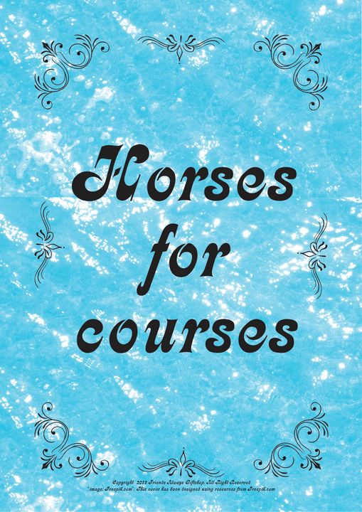 157B Horses for courses - Friends Always Giftshop